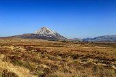stock photo of ireland  - Mount Errigal Co - JPG