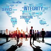 image of earth structure  - Integrity Structure Service Analysis Value Service Concept - JPG