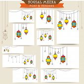 picture of lamp post  - Social media and marketing headers - JPG