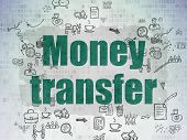 foto of transfer  - Finance concept - JPG