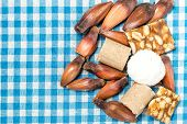 picture of brazilian food  - Delicious sweets for the Brazilian Festa Junina Party  - JPG