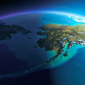 picture of chukotka  - Highly detailed planet Earth - JPG
