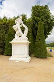 stock photo of versaille  - Royal Garden in the Versailles Castle Paris France Unesco - JPG