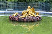 pic of versaille  - Royal Garden in the Versailles Castle Paris France Unesco - JPG