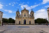 pic of notre dame  - Church of Notre-Dame in Versailles Paris France