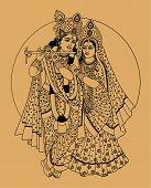 stock photo of krishna  - Hindu Gods  - JPG