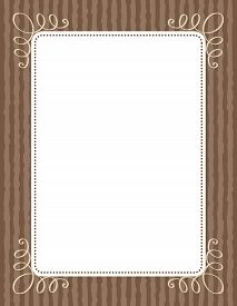 picture of invitation  - Retro wooden wedding invitation - JPG