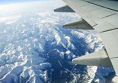 Canadian Rockies;Aerial View