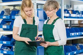 stock photo of blue-collar-worker  - Blue - JPG
