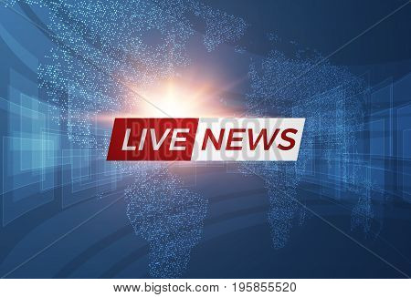 News vector background