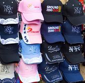 Hats for Sale at World Trade Center