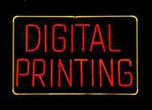 Neon Digital Printing Sign