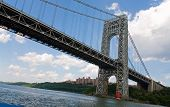 The George Washington Bridge in New York City