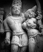 Templos em Khajuraho, na Índia