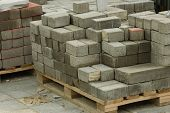 picture of cinder block  - bricks - JPG