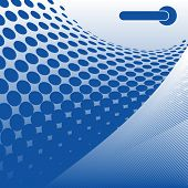 Abstract blue background (Version vector 13054195)