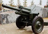 Old soviet cannon