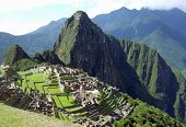 The Lost Incan city of Machu Picchu near Cusco, Peru.