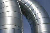Modern Metallic Ventilation Ducts