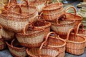 Basketry basketwork Spain traditional enea esparto basket handcrafts
