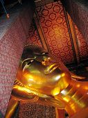 Head Of Reclining Buddha