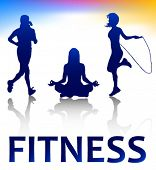 fitness style silhouettes
