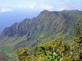 Kalalau Mountains Of Hawaii
