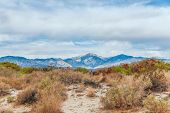 View Of Coachella Valley From Desert Hot Springs. Southern California. Usa poster