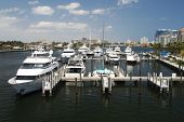 Ft. Lauderdale Marina On The Intracoastal