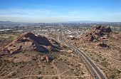 Papago Buttes & Phoenix Skyline
