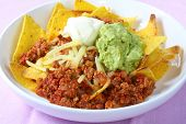 stock photo of nachos  - Nachos  - JPG