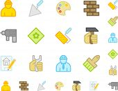Work tool icons