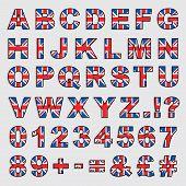 Great Britain Alphabet