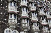 image of british bombay  - luxury historic hotel Taj Mahal Palace in Mumbai  - JPG