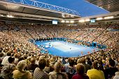 MELBOURNE - JANUARY 29: Rod Laver arena during the 2012 Australian Open final between Noval Djokavic
