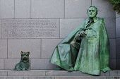 Franklin Delano Roosevelt Memorial in Washington DC