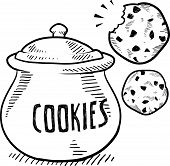 Cookie jar sketch