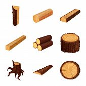 Vector Illustration Of Signboard  And Wood Symbol. Set Of Signboard  And Wooden Vector Icon For Stoc poster