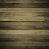 old blue wooden background, horizontally placed
