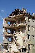 France, Demolition Of An Old Building In Les Mureaux