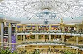 Underground Shopping Mall In The Center Of Minsk