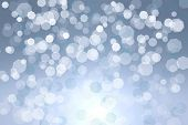 Winter abstract background .