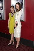 LOS ANGELES - NOV 29:  Kate Mara, Olivia Wilde arrive at the 'Deadfall' premiere at ArcLight Hollywo