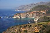 A Panoramic View of the Pacific Coast Highway