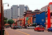 Singapura - distrito de Chinatown