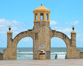 Daytona Beach Entrance to Amphitheater