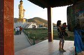 Buddha Statue. Ulan Bator . Mongolia