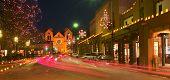 Santa Fe en Navidad