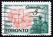 Postage stamp Canada 1967 Toronto in 1967, Citizens of 1867