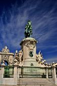 Statue Of King Jose I, By Machado De Castro